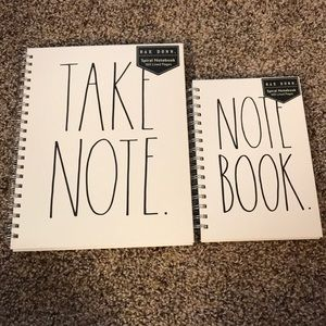 Rae Dunn Notebooks